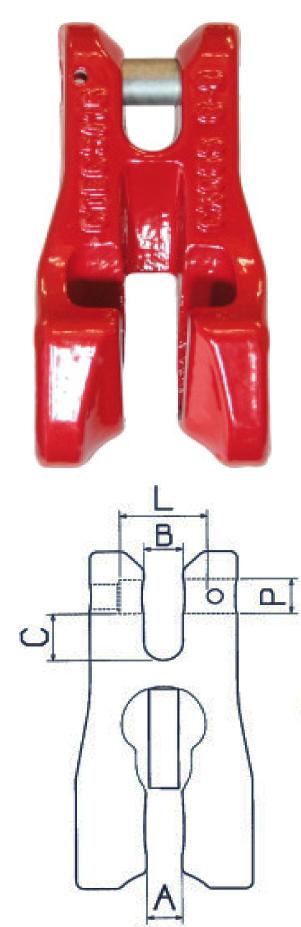 CARTEC Verkürzungsklaue mit Gabelkopf GK 8