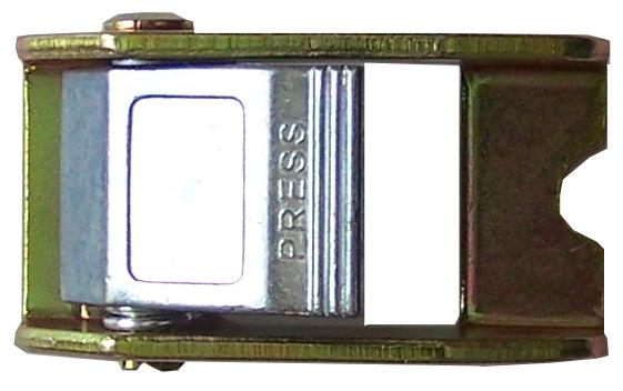 Klemmschloss für Gurtbänder 25 mm, schweißbar