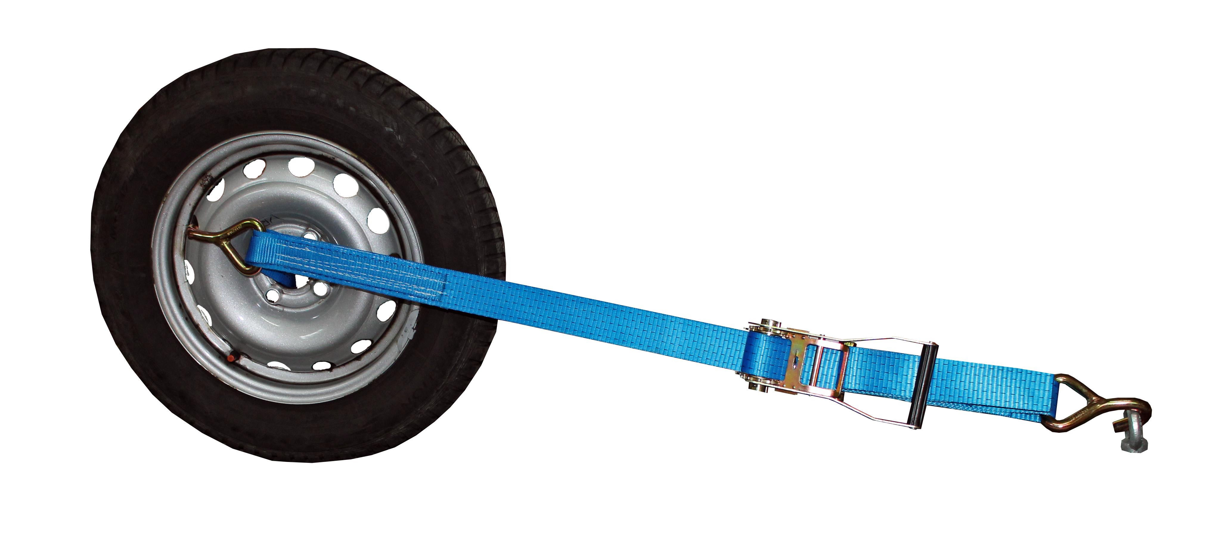 Radsicherungsgurt mit Einhängeschlaufe, 50 mm