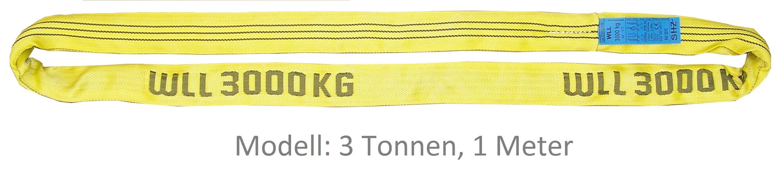 Rundschlinge Performance+ Tragfähigkeit 8 Tonnen