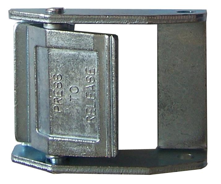 Klemmschloss für Gurtbänder 50 mm