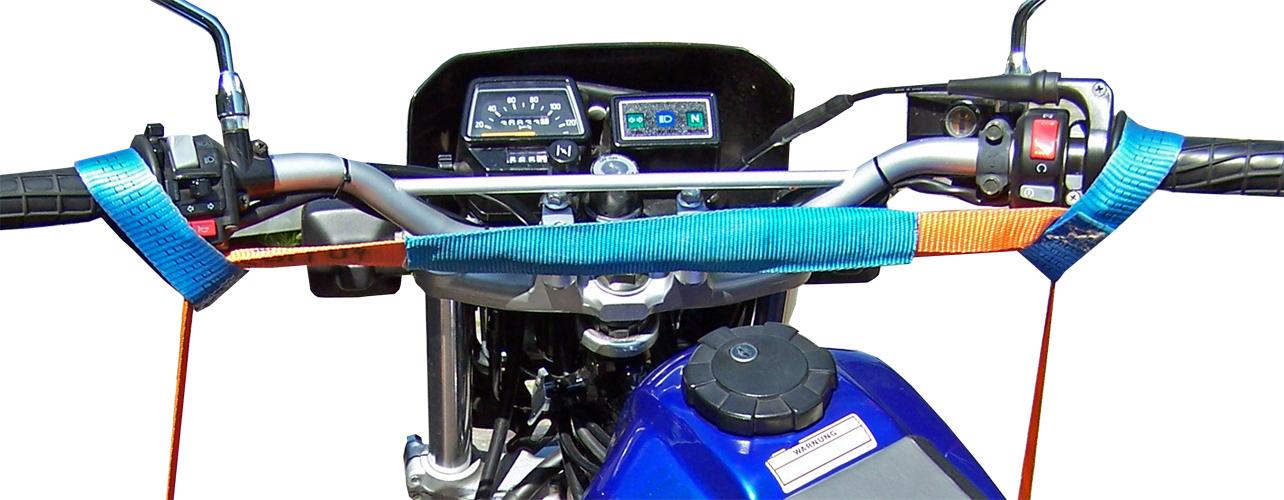 Motorradsicherung vorn
