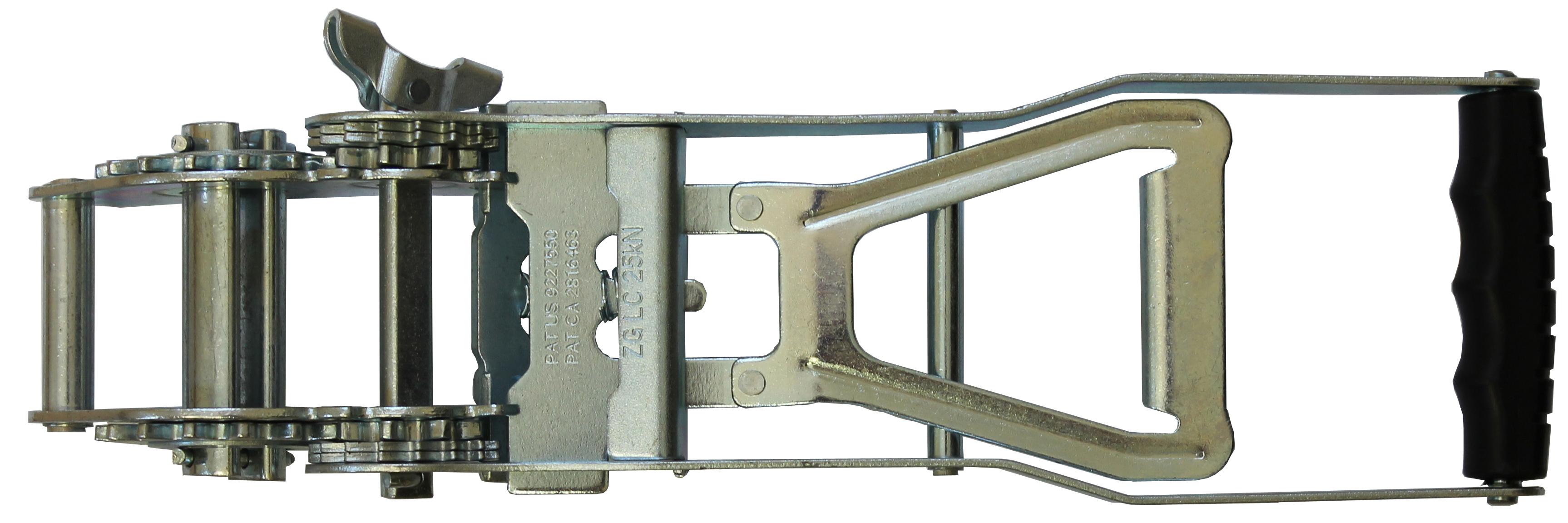Langhebel Druckratsche Ergo MAX für Bandbreite 50 mm