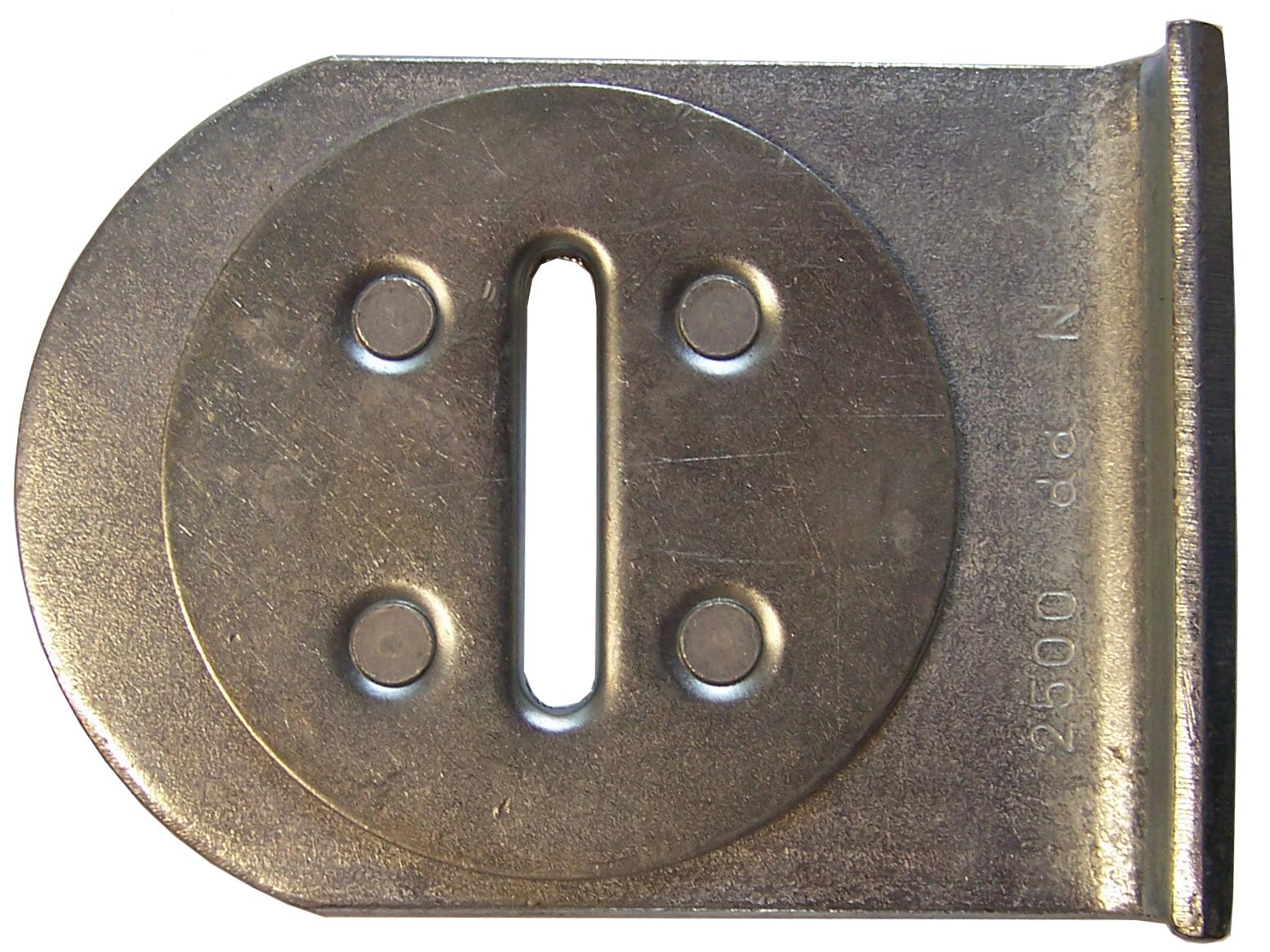 Flachhaken drehbar  50 mm