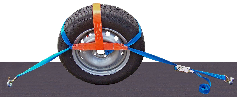 Radsicherungsgurt 4-teilig 35 mm
