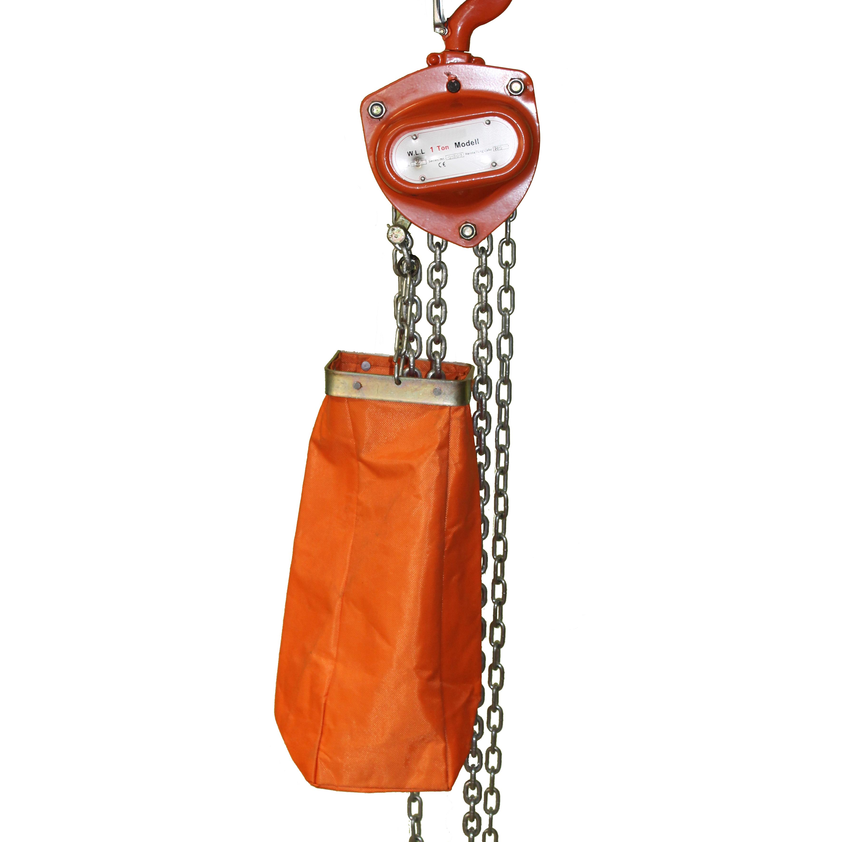Kettenspeicher für Handkettenzüge