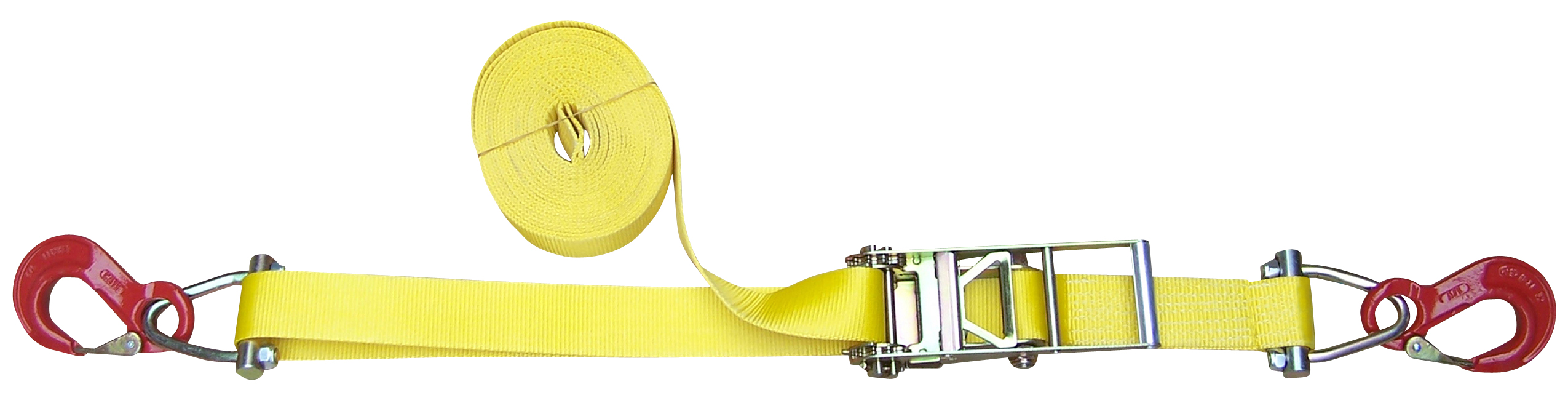 Ratschengurt Tandem zweiteilig, 75 mm