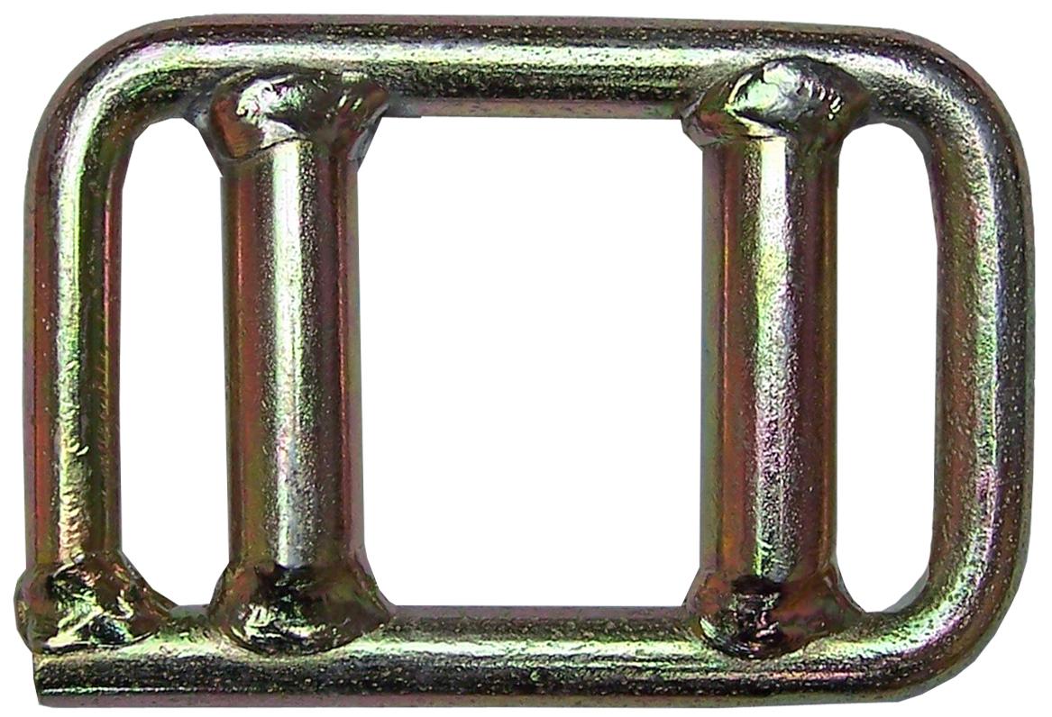 Einwegschnalle (rund) für Bandbreite 50 mm