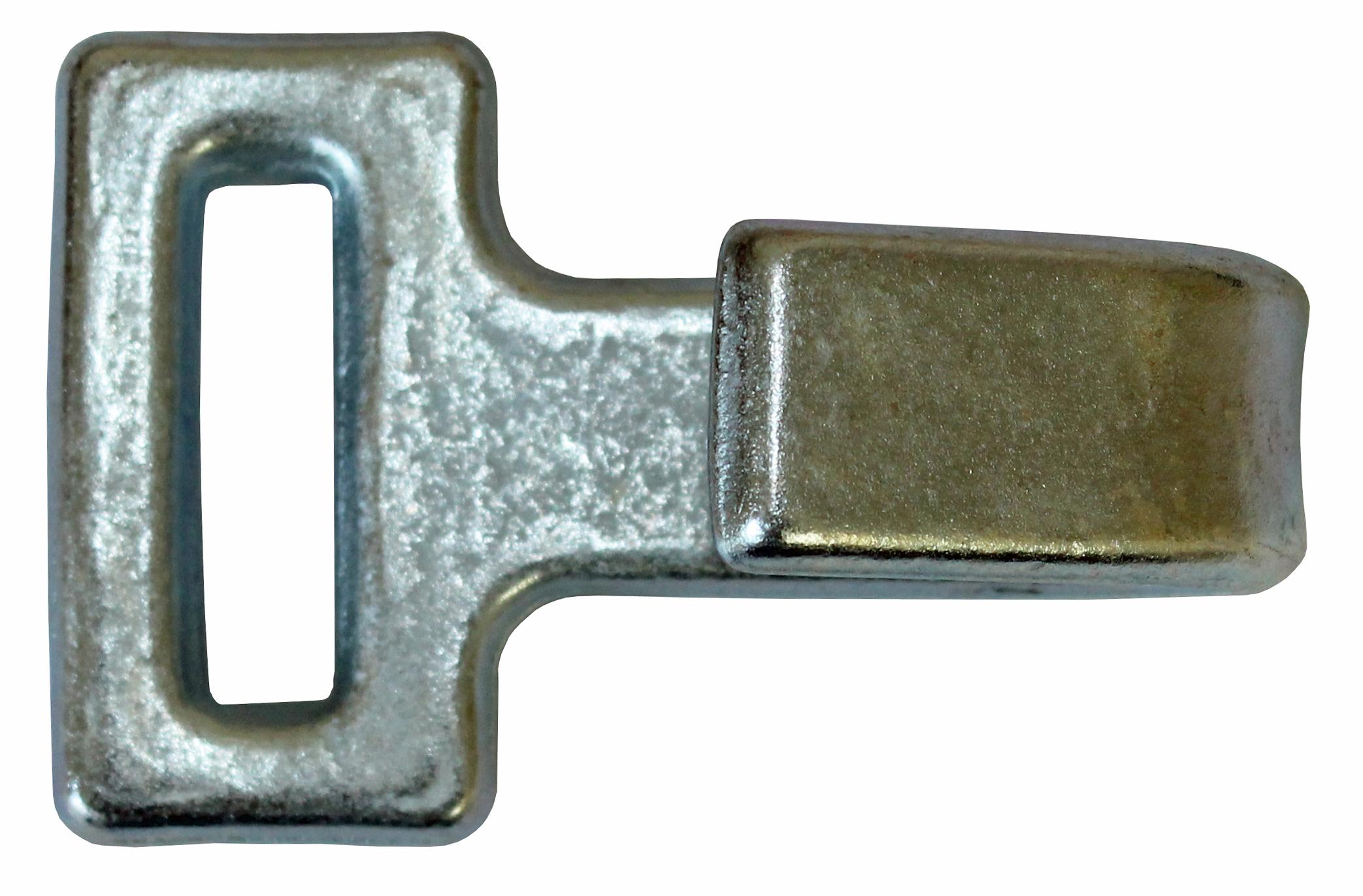 Flachhaken (Guss) 50 mm
