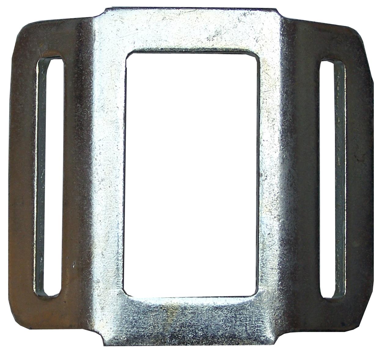 Einwegschnalle (flach) für Bandbreite 35 mm
