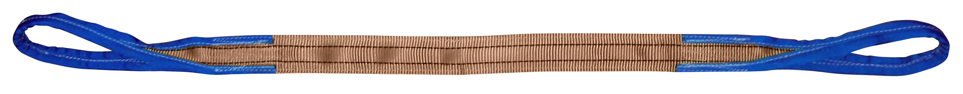 Hebeband 2 -lagig, vollverstärkte Schlaufen, Tragfähigkeit 6 Tonnen